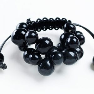 Dna bracelet braccialetto ceramica nera